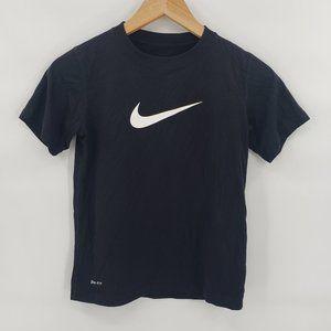 Nike Women's Black Logo T-Shirt